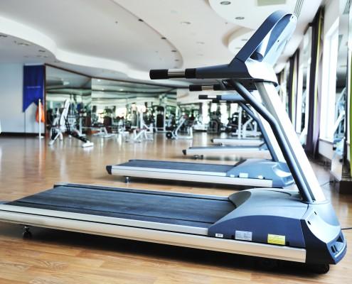 sport club gym, empty of people