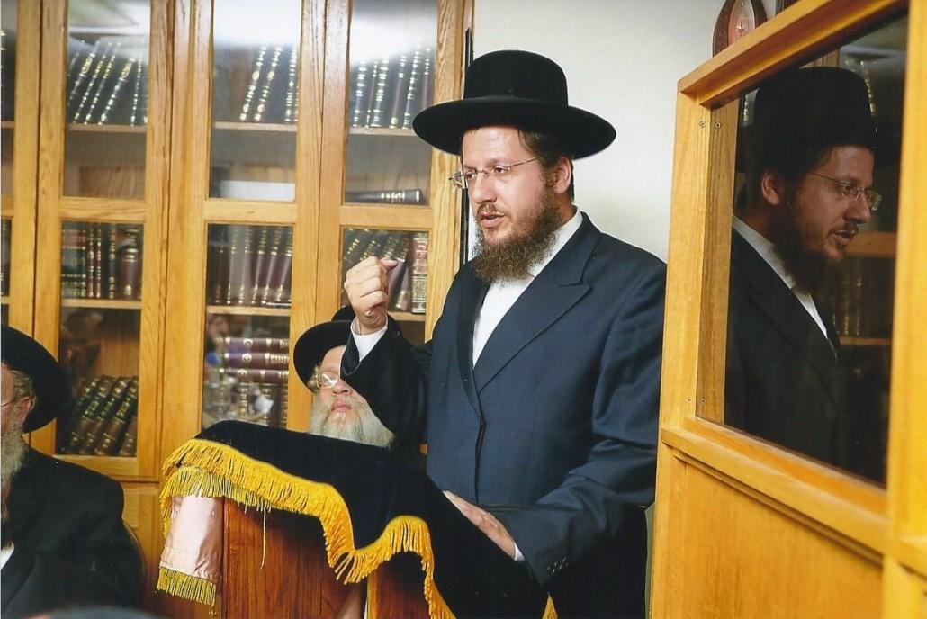 Rabbin au site Web 1